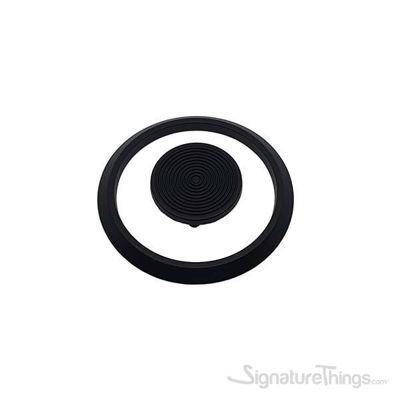4 Inch Overall Length Novelty Pull - Matte Black