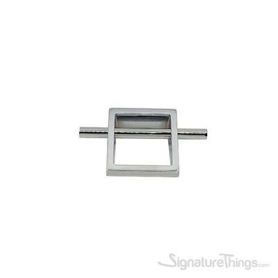 """5"""" SANTA Square Handle Bar 64mm Chrome"""