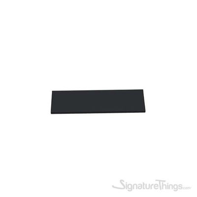 MELIS Hidden Rectangular Handle 128/150 Matte Black