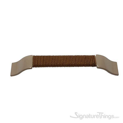 THAMES Handle with Rope 128mm Cappucino Arch Pull