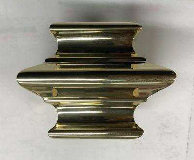 SignatureThings.com Brass Hardware Brass Cap Rail Picket Connector