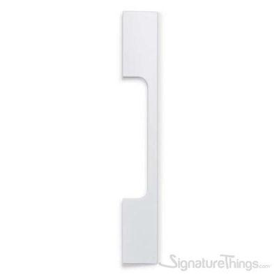 Peak Aluminum Cabinet Handle - Matt white