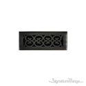Scroll Register 3X10 W/Damper - Venetian Bronze