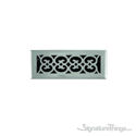 Scroll Register 3X10 W/Damper - Satin Nickel