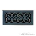 Scroll Register 4X10 W/Damper - Venetian Bronze