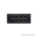 Scroll Register 4X12 W/Damper - Venetian Bronze