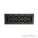 Scroll Register 4X14 W/Damper - Venetian Bronze
