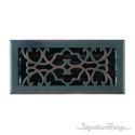 Victorian Register 4X10 W/Damper - Venetian Bronze