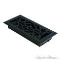Victorian Register 4X10 W/Damper - Weathered Black