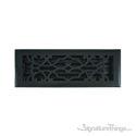 Victorian Register 4X14 W/Damper - Weathered Black
