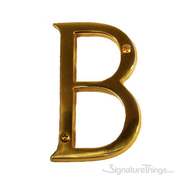 """Traditional 4"""" Letter B"""