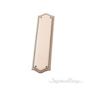 "Trafalgar Push Plate 2-3/4"" x 11"" - Venetian Bronze"