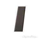 "Quaker Push Plate 2-3/4"" x 10"" - Venetian Bronze"
