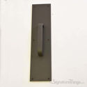 "Push Plate 3"" X 12"" - Oil Rubbed Bronze Powder Coat"
