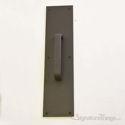"Push Plate 3-1/2"" X 15"" - Oil Rubbed Bronze Powder Coat"