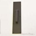 "Push Plate 4"" X 16"" - Oil Rubbed Bronze Powder Coat"