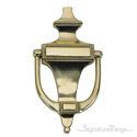 "Rope Door Knocker 6-1/2"" -  Polished Brass"