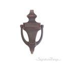"""Rope Door Knocker 6-1/2"""" -  Venetian Bronze"""