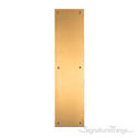 Antimicrobial Push Plate OnlySatin Brass