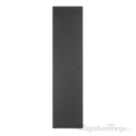 Antimicrobial Push Plate OnlyWeathered Black PC