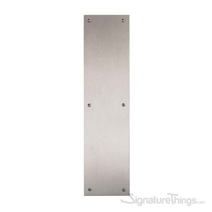 Antimicrobial Push Plate OnlySatin Stainless