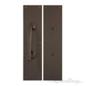 Antimicrobial Push & Pull Plate Set - Oil-rubbed Bronze PC