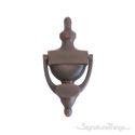 """Traditional Door Knocker 8"""" -  Venetian Bronze"""