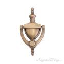 """Traditional Door Knocker 6"""" -  Antique Brass"""