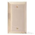 Classic Steps Single Blank-Polished Brass
