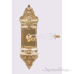 L'Enfant Kinsman Lever Plate Set - Polished Brass