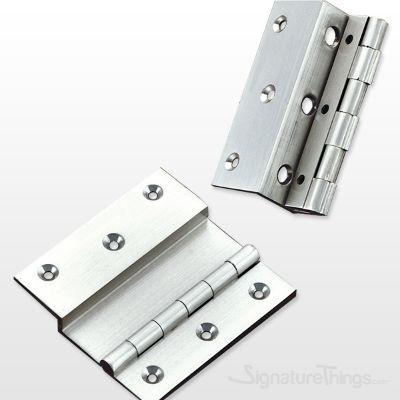 "Brass 6 MM (1/4"") Deap L-Type Hinges"