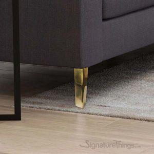 Brass Straight Furniture Legs