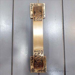 8 Inch Antique Brass Nexa Door Handle