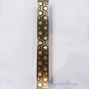 Antique Brass Seegnature 1534 Glass Door Handle