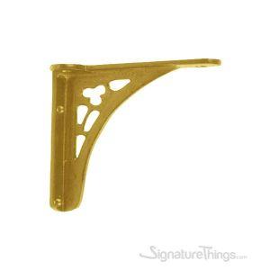 Cast Brass  Shelf Bracket