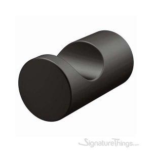 Elegant Collection Bathroom Hardware Accessory  Robe Hook  - Matte Black Finish