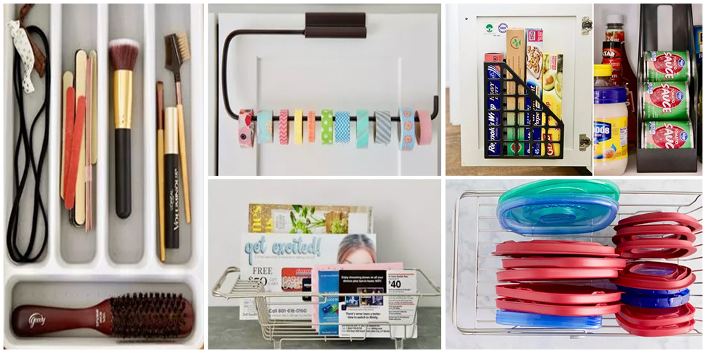 Top 5 Storage Ideas with Common Household Items